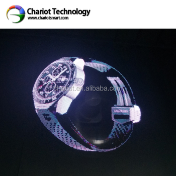 Chariot full hd resolution led hologram advertising display fan with amazing holographic image