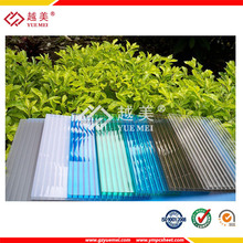 hollow polycarbonate solid pc roof sheets price per sheet
