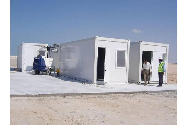 Low cost prefab shipping container homes