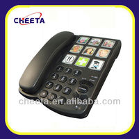 big button hearing aid senior telephone