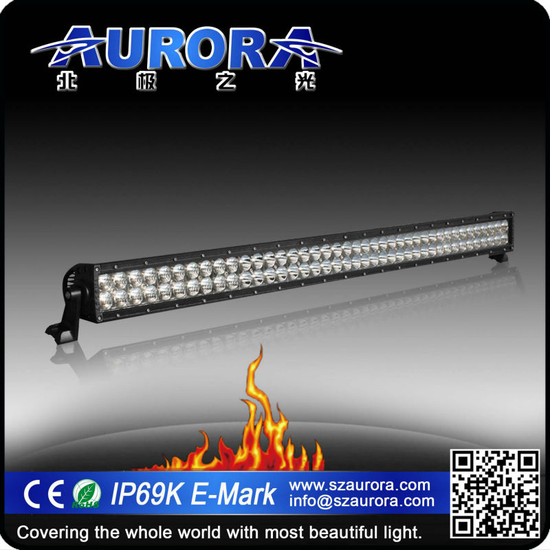 Aurora brightness 40inch 400W LED dual line led light