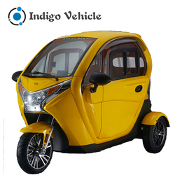 Cheap enclosed motorcycle electric adult tricycle e trike