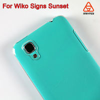 2014 newest 3D paper sublimation Phone case For Wiko Signs
