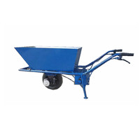 Electric hand trolley heavy duty 36V 48V Electric wheelbarrow