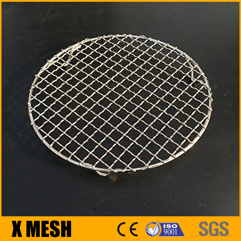 Stainless Steel Cross Wire Steaming Cooling Barbecue Rack /Carbon Baking Net/Grill /Pan Grate with Legs