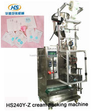 Whitening lotion/cream pouch packing machine