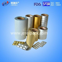 Pharmaceutical aluminium blister foil and alu alu foils