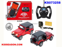 KIDSEASON 1:16 SCALE DIE-CAST RC JEEP WITH LIGHT - THE DOOR CAN OPEN