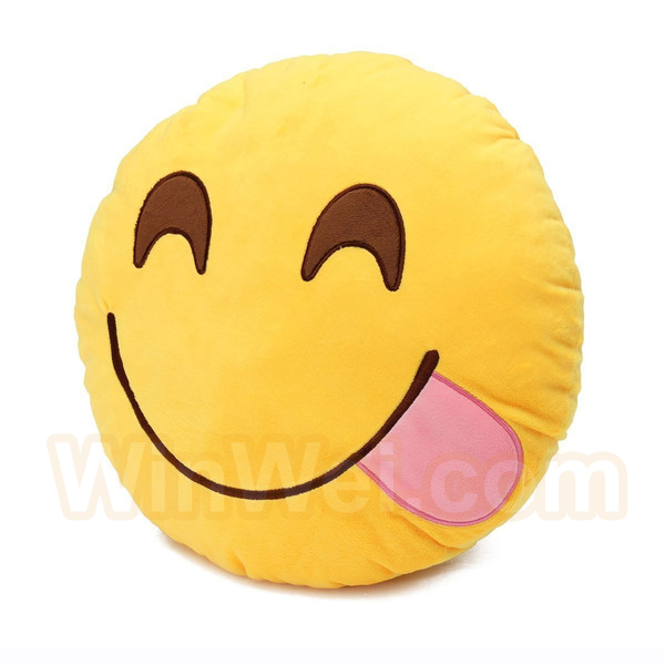 Emoji stuffed plush soft toy