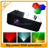 Top sale stage lighting led disco light 5000mw 5w rgb full color laser light
