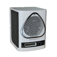 Low Noise Ozone Ionic Air Purifier Sterilizer with cleanable room hepa filter