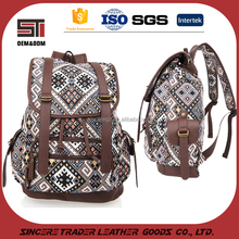 Leisure daily use lightweight fashion women backpack bag for travel or school 16SC-4858D