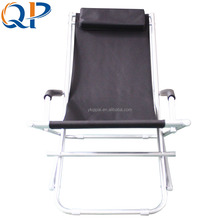 PVC QP-YP04A 93*56.5*75cm 600D Polyester Aluminum Elderly Beach Chair
