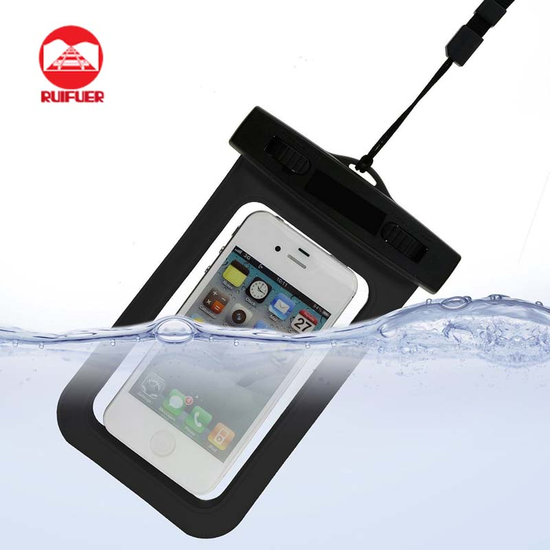 Universal PVC water proof phone case for smartphone mobile phone, waterproof pouch