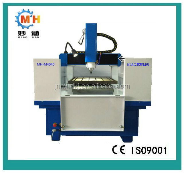 metal mould making maachine MH-M4040 mini CNC router engraving machine for wood/MDF/plywood/stone/aluminum/mild metal