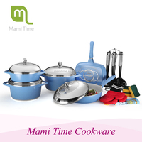 Mami time 10 pcs cast iron cookware sets