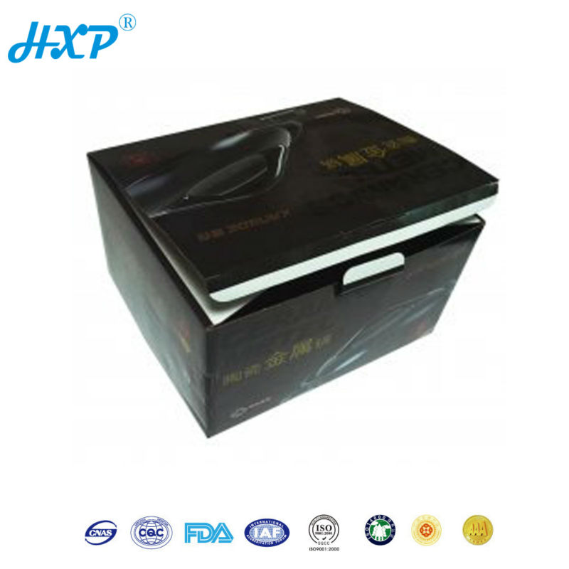 Cardboard box 2C 1-Layer SBB Offset black printing big shipping box