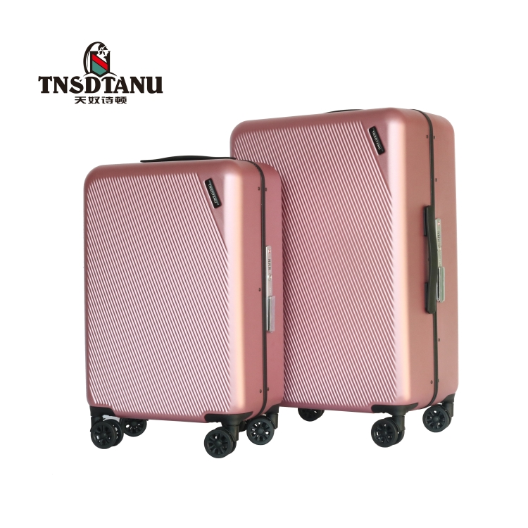 Wholesale china cheap oem travel trolley newest wheeled luggage hand bag trolley ugly luggage