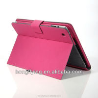 Trendy keyboard anti-shock case for iPad 5 PU leather cover
