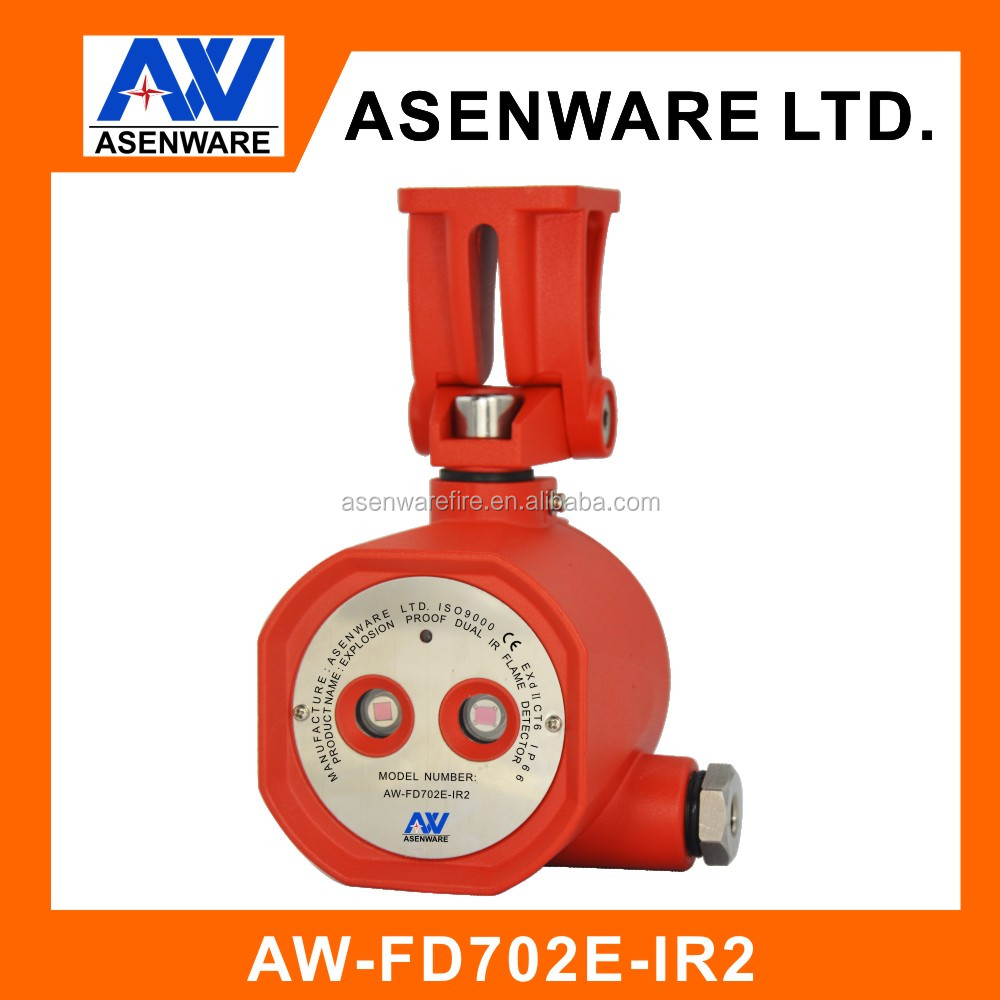 Detection Angle of 120 degrees Explosion Proof Flame Detector