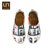 UIN School Time cartoon characters gilr summer shoes