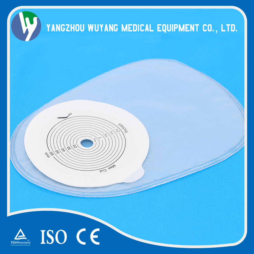 Medical Two-piece adhesive colostomy bag clip with cheap price