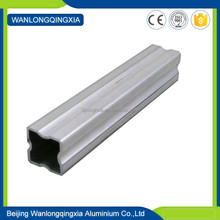 DIY project aluminum extruded mill finish extrusion profiles/irregular tube