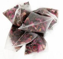 Triangle bags 6g mix flowers tea fruits tea rose peach lychee Osmanthus oolong