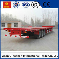 Shipping 20ft 40ft 45ft Container Flatbed