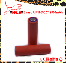 Rechargeable 18650 2800mah 3.7v li-ion battery cell ur18650zt with high capacity