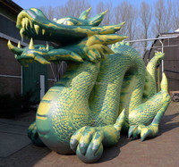 Inflatable Dragon High-quality Customized inflatable lovely PVC model for advertising