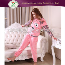 Breathable 100 cotton long sleepwear, thick winter flannel pajamas pants