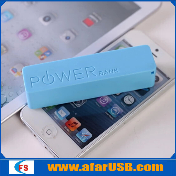 Portable power bank 2600mah Mobile power bank for all smartphone 2600mah power bank
