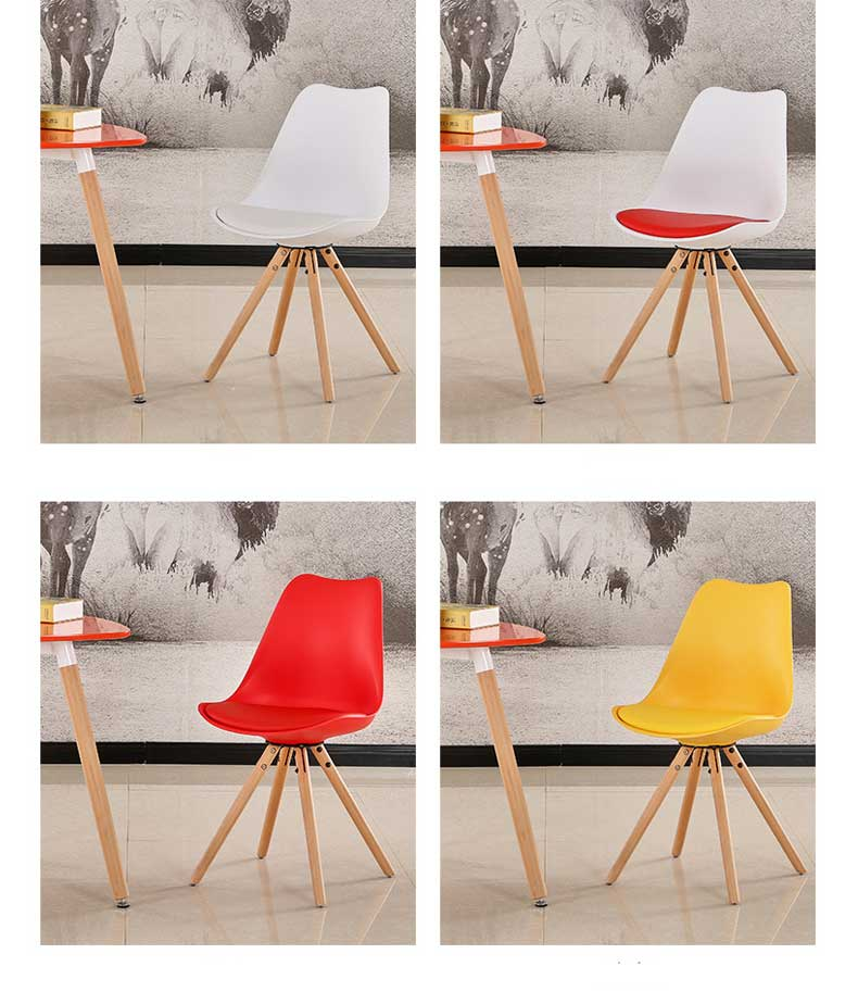 Used Modern White American Designer PP Plastic chair and table for restaurant furniture