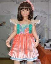 2015 children girl smoking dress kids clothing sets wholesale baby fancy dress
