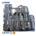 Falling film evaporator used for juice, medicine, food processing, beverage, light industry, environmental protection and chemic