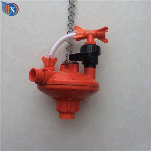 Poultry Chicken nipple drinker drinking line water pressure regulator controller for farm equipment