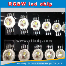 high power 12w rgbw led chip with 8 pins
