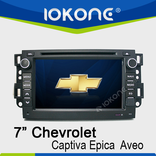 7'' Special for chevroet epica auto dvd with gps bluetooth phonebook ipod