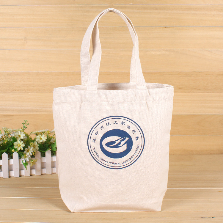 Custom Promotional Eco friendly Woven Shopping Cotton Bag