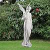 Manufactory Granite Angel Stone Statue, China Supplier Garden Stone Nude Sculpture Woman/