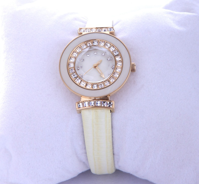 Assisi design your own watch,watch stainless steel back women,gold plated wrist watch