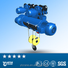 Electric lifting monorail motor wire rope hoist