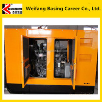 Weifang high cost performance low fuel consumption Weichai Ricardo 100kva silent generator