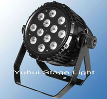 Waterproof IP65 10W RGBW 4 in 1 Dj Stage Show Par Led Lights 12 Clubs And
