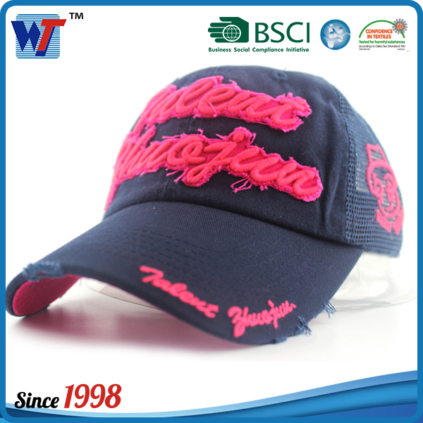 Promotional Embroidery Caps Customize Design Baseball hats and caps