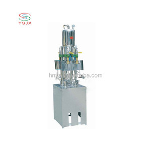small carbonated beverage beer can filler filling machine for sale