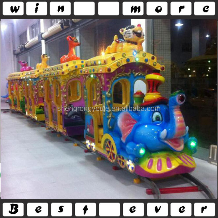 Outdoor/indoor promotional sales high quality electric train,amusement park train rides for sale