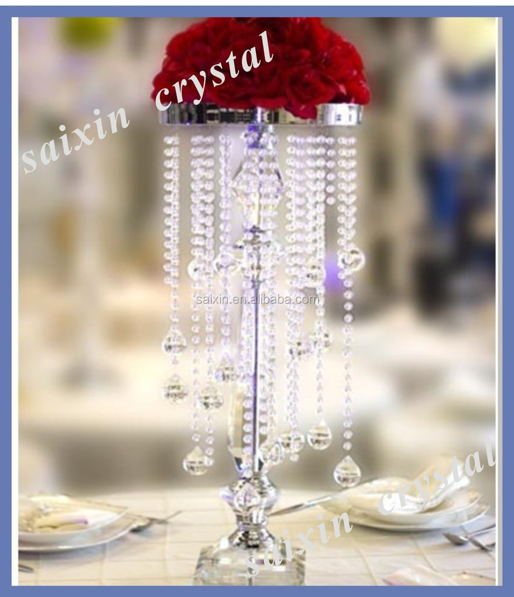 Unique Wedding Table Centerpiece Crystal Stands Zt-263 - Buy Crystal ...