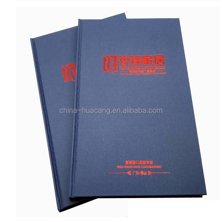 Promotional gifts customized design hardback book for door